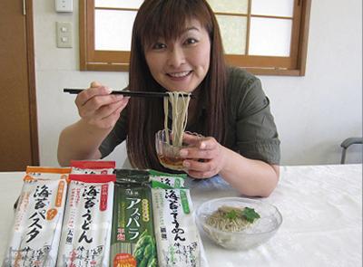 佐賀の彩健食 「アスパラ平麺」3