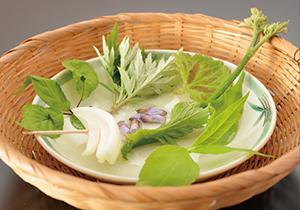 山野菜会席5