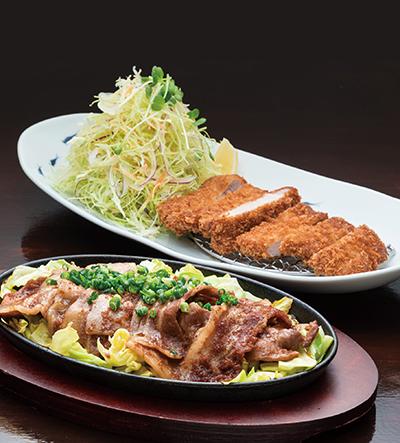 金星®佐賀豚 定食2