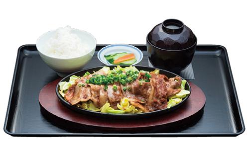 金星®佐賀豚 定食3